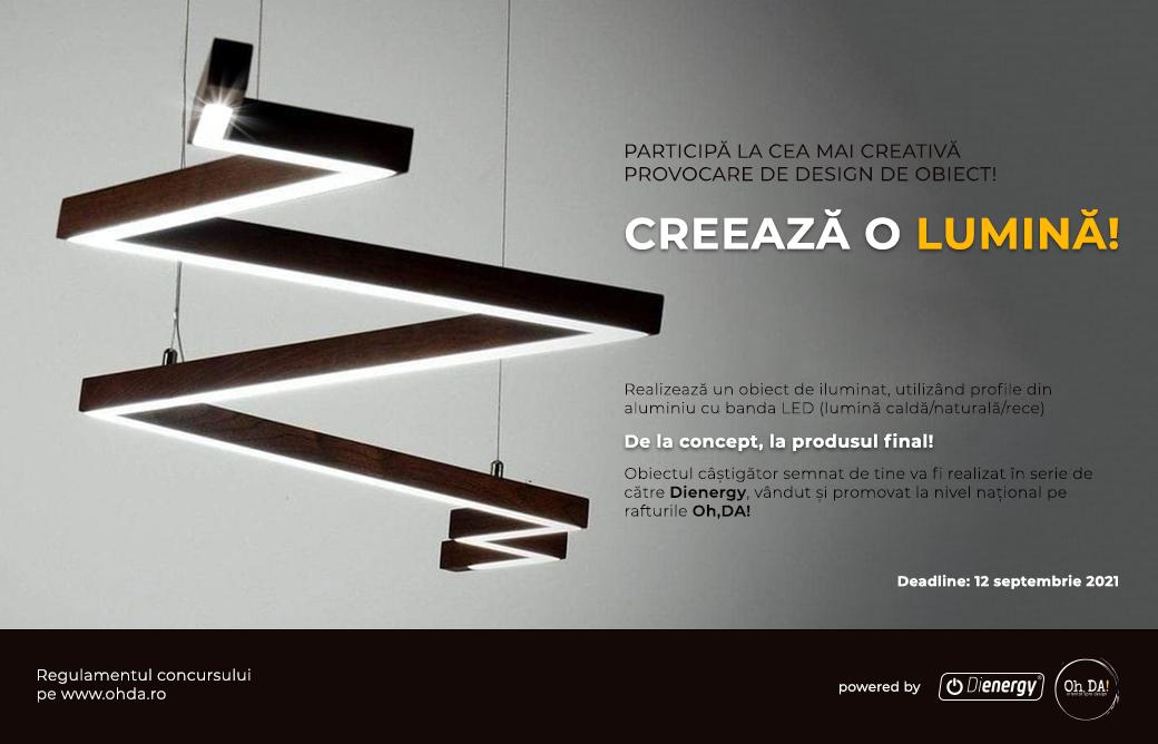 CONCURS: Creeaza o lumina!
