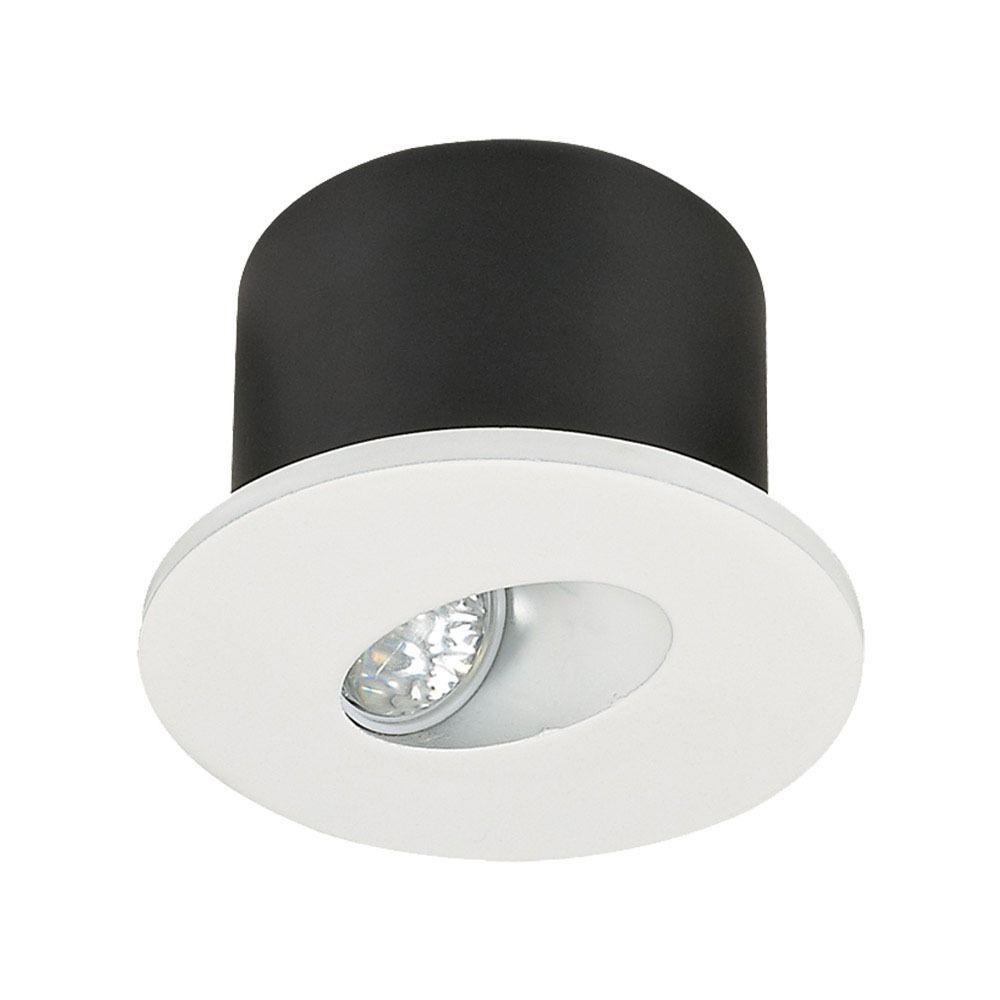 Spot Incastrabil Rotund LED 3W Pentru Plinta 3000K Alb