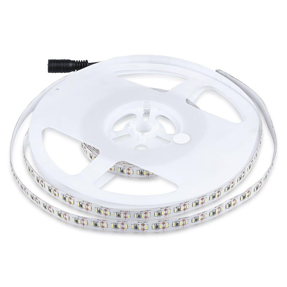 Banda LED SMD3014 - 18W/m, 204 LED/m 6000K IP20