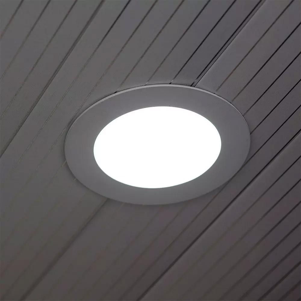 LED Panou Premium 18W, Rotund, 3000K
