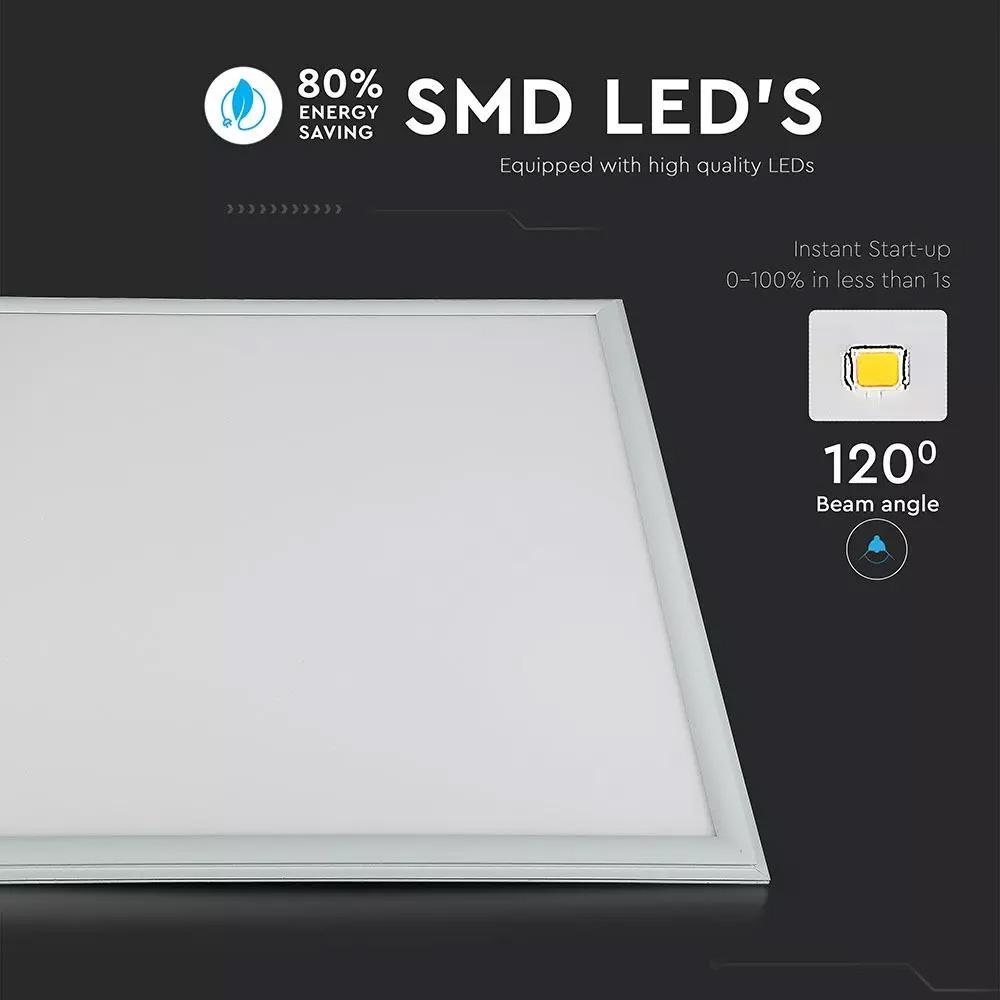 Panou LED 45W, 600 x 600mm, 4500K, Driver Inclus