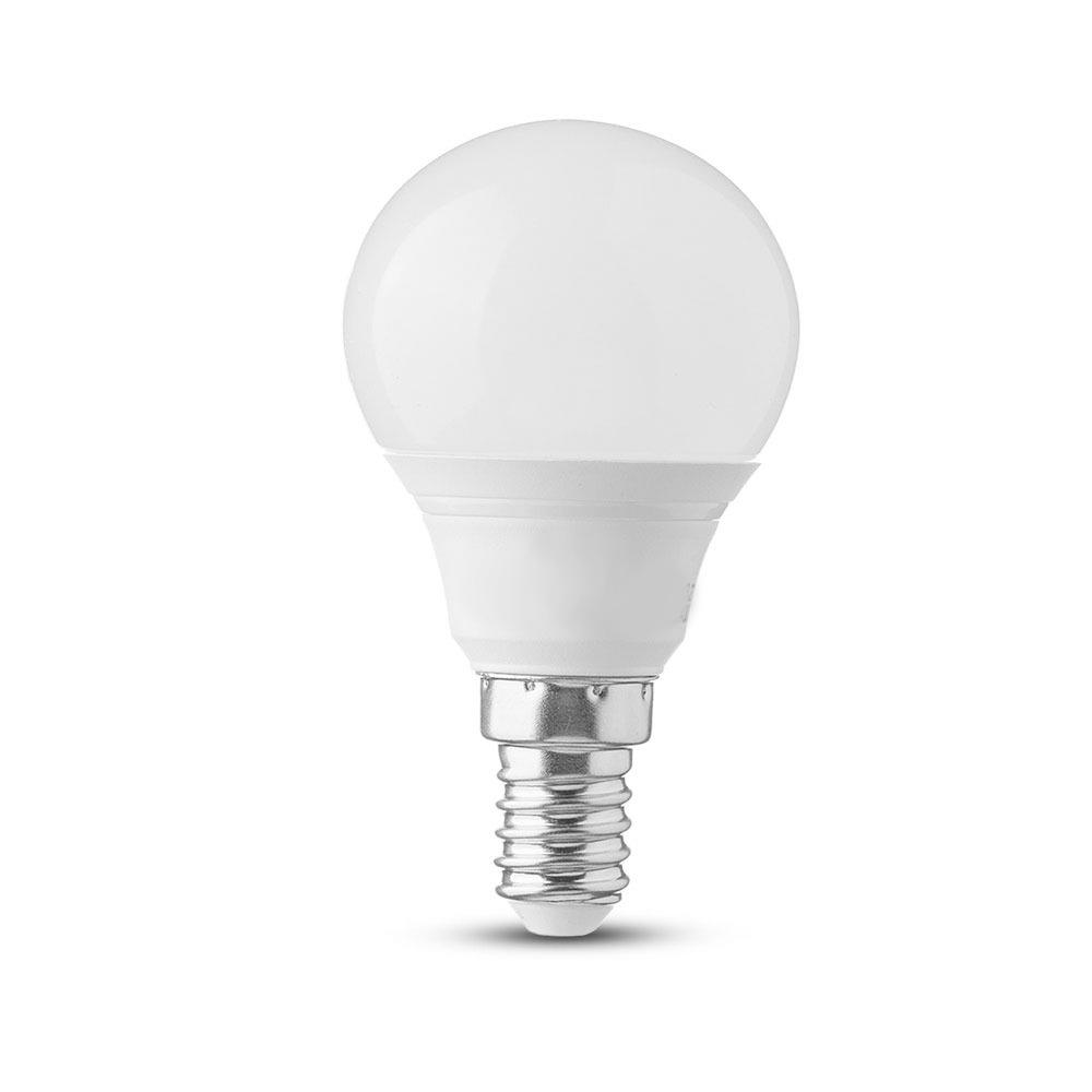 Bec LED - 4W, E14, P45, 2700K
