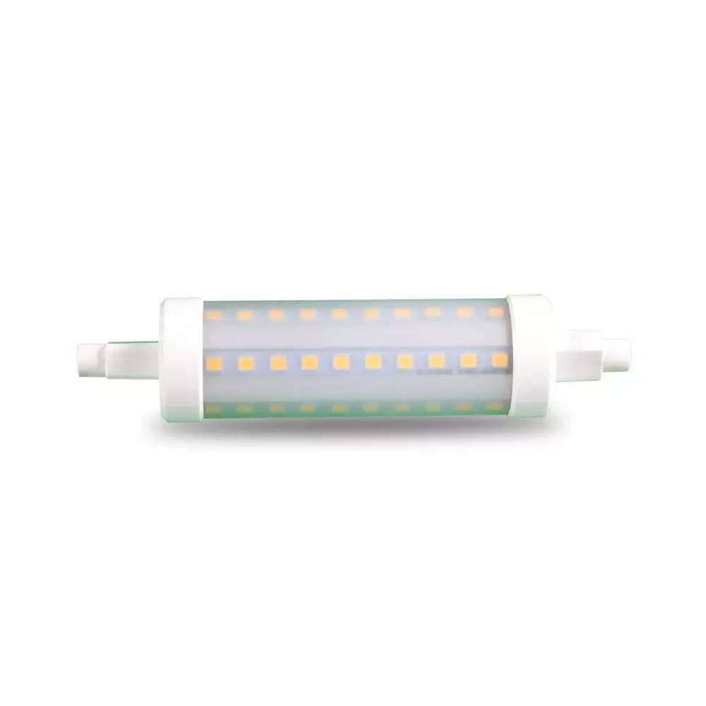 Bec LED 10W R7S, 118mm, Plastic 4500K