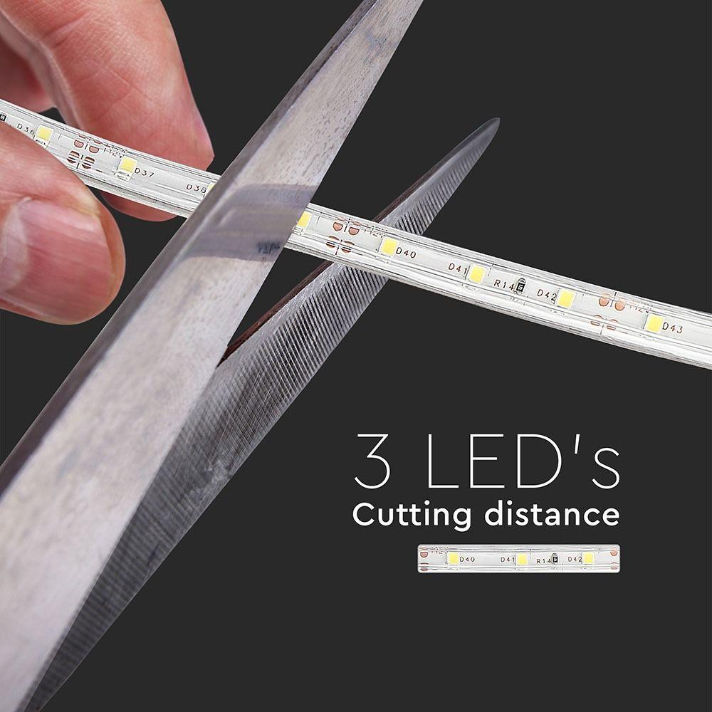 Banda LED SMD3528 - 3.6 W/m 60LED/m Verde IP65