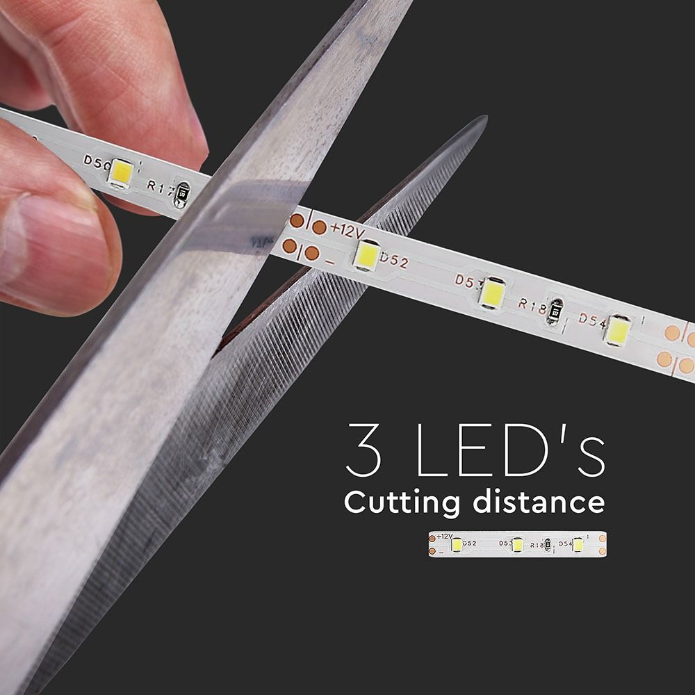 Banda LED SMD3528 -3.6W/m, 60LED/m Rosu IP20