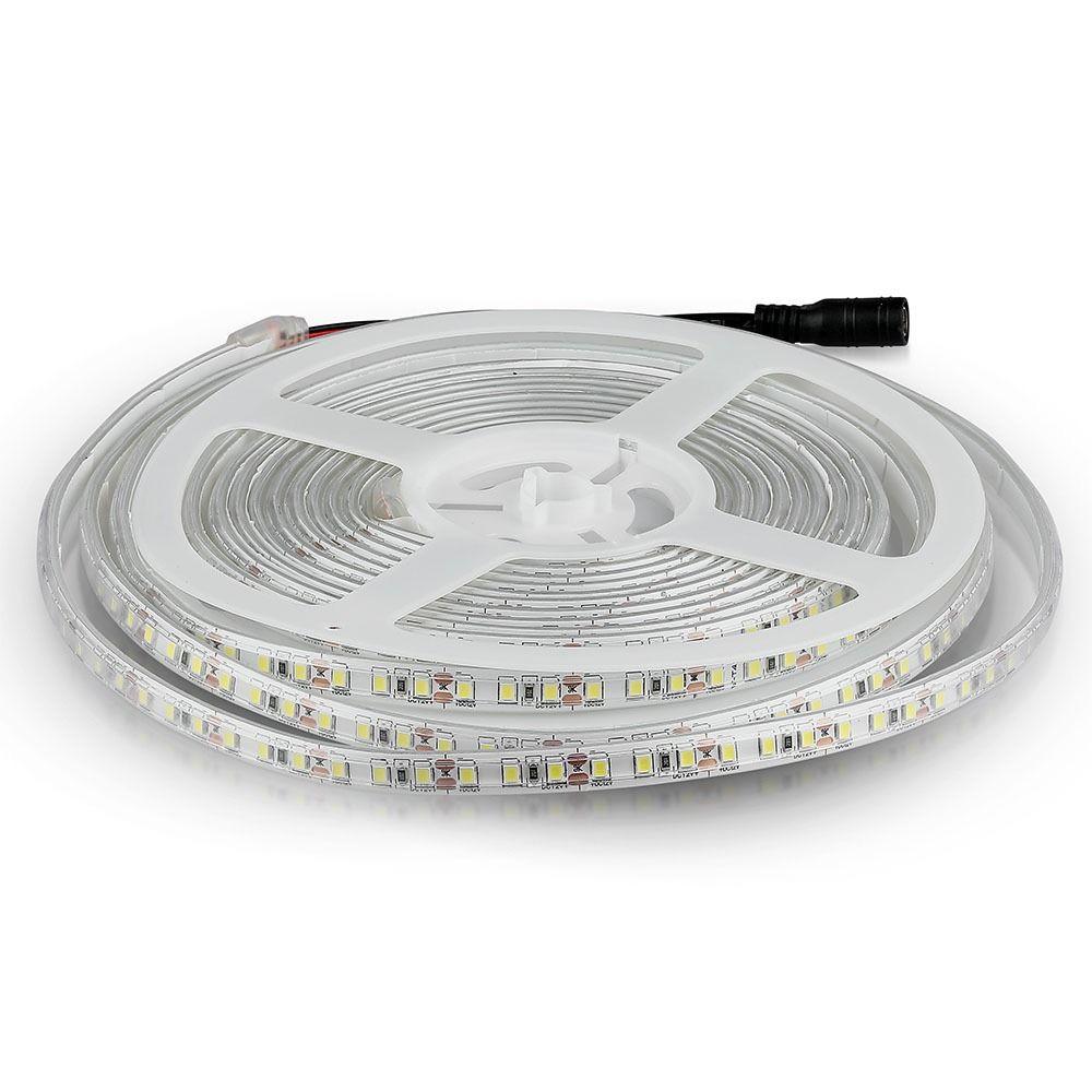 Banda LED SMD3528 - 7.2 W/m 120 LED/m 6400K IP65