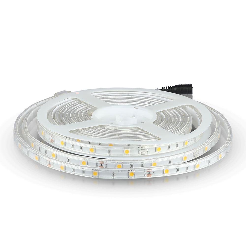 Banda LED SMD5050 - 4.8 W/m 30 LED/m 6400K IP65