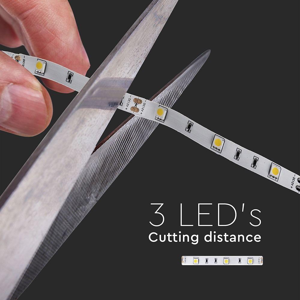 Banda LED SMD5050 - 4.8W/m,30 LED/m 3000K IP20