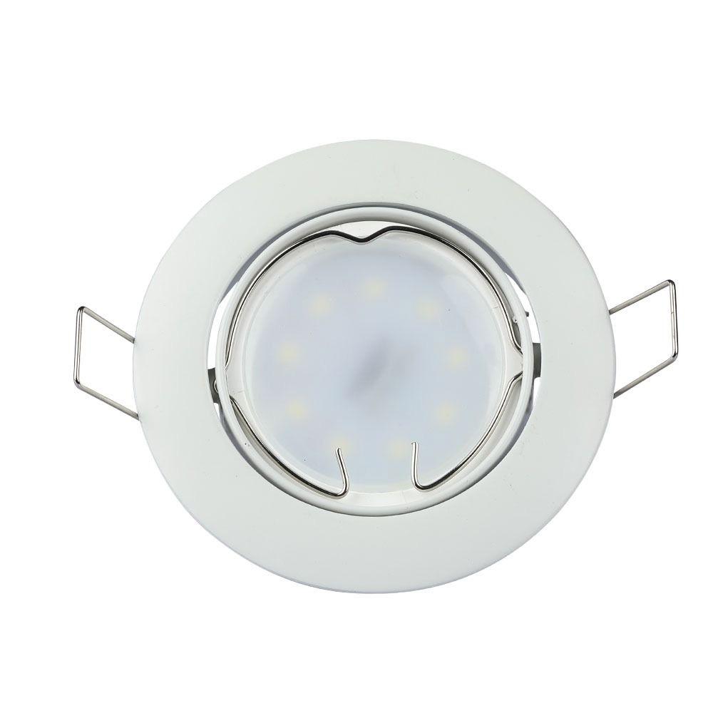 Rama Spot GU10 Rotund Orientabila, Alb