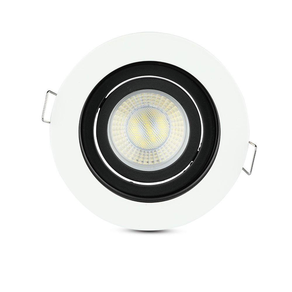 Rama Spot GU10 Rotund Alb