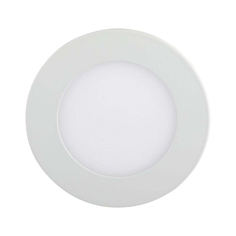 Panou LED Premium 12W - Rotund 3000K
