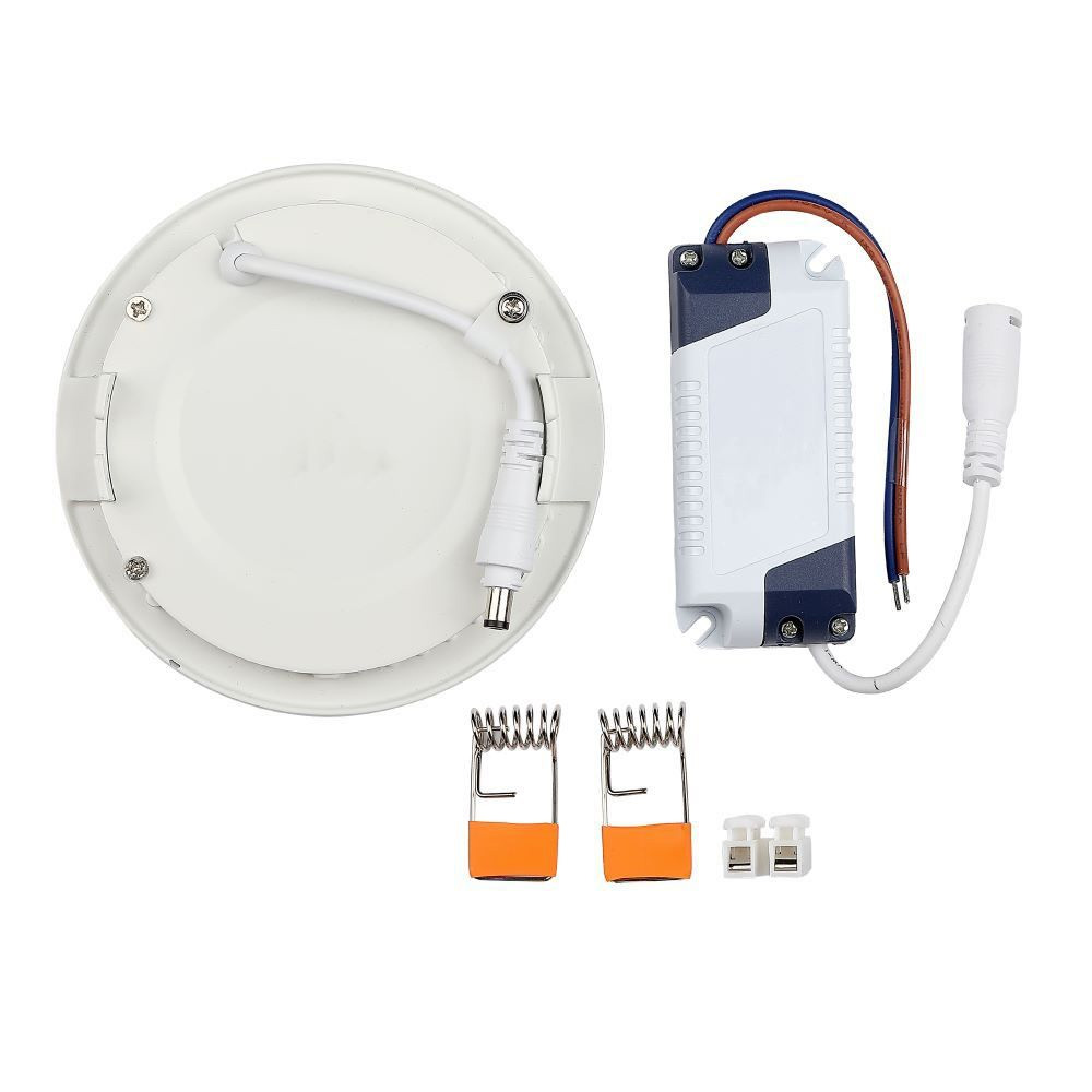 Panou LED 24W, Premium, Rotund, 3000K