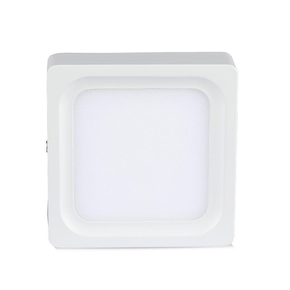 Panou  LED 8W Aplicabil, Patrat, 3000K