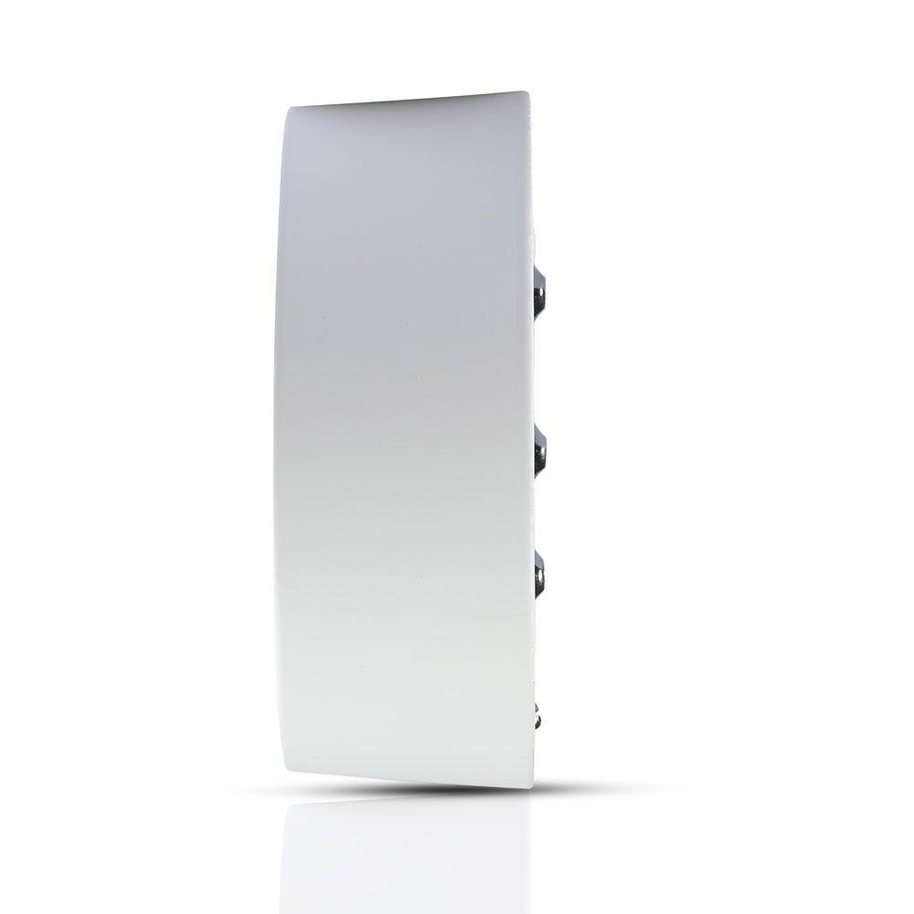 Panou LED 8W Aplicabil, Rotund, 4500K