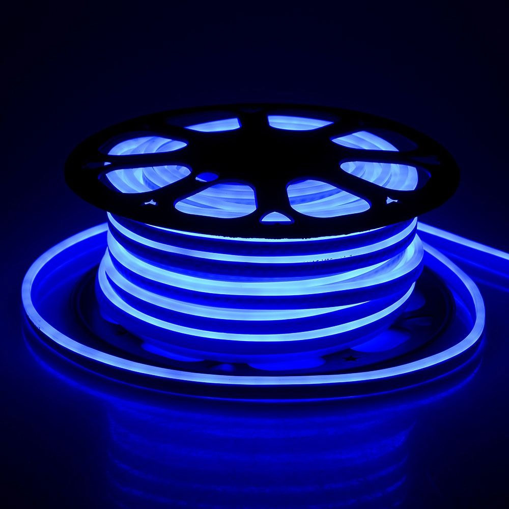 Neon Flexibil 24V, Albastru
