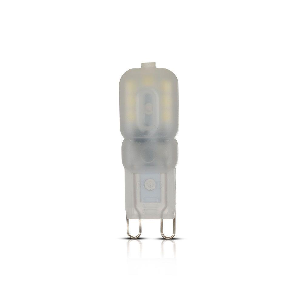 BEC LED 2.5W, 230V G9, PLASTIC 2700K