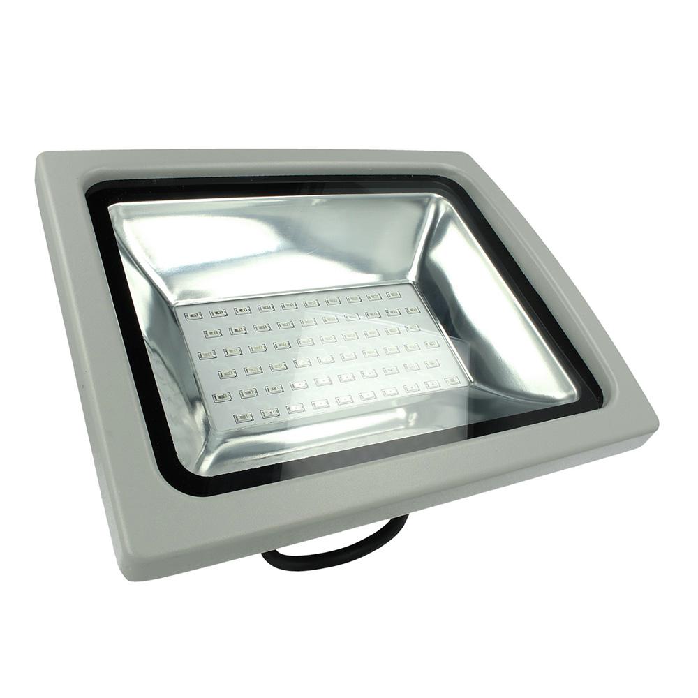Proiector LED RGB 30W cu Telecomanda RF, Corp Gri, SMD