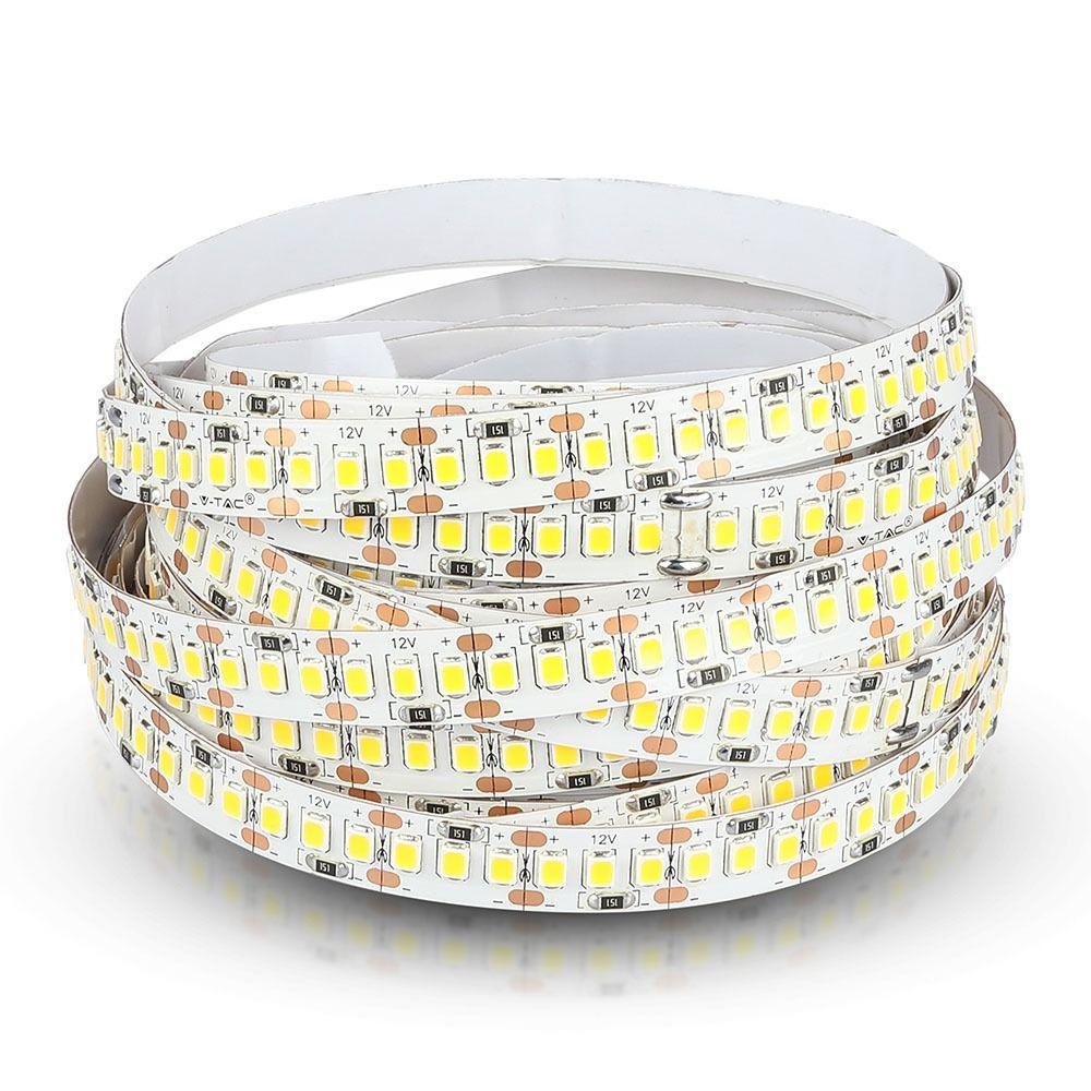 Banda LED SMD2835 - 18 W/m 204 LED/m 6000K IP20