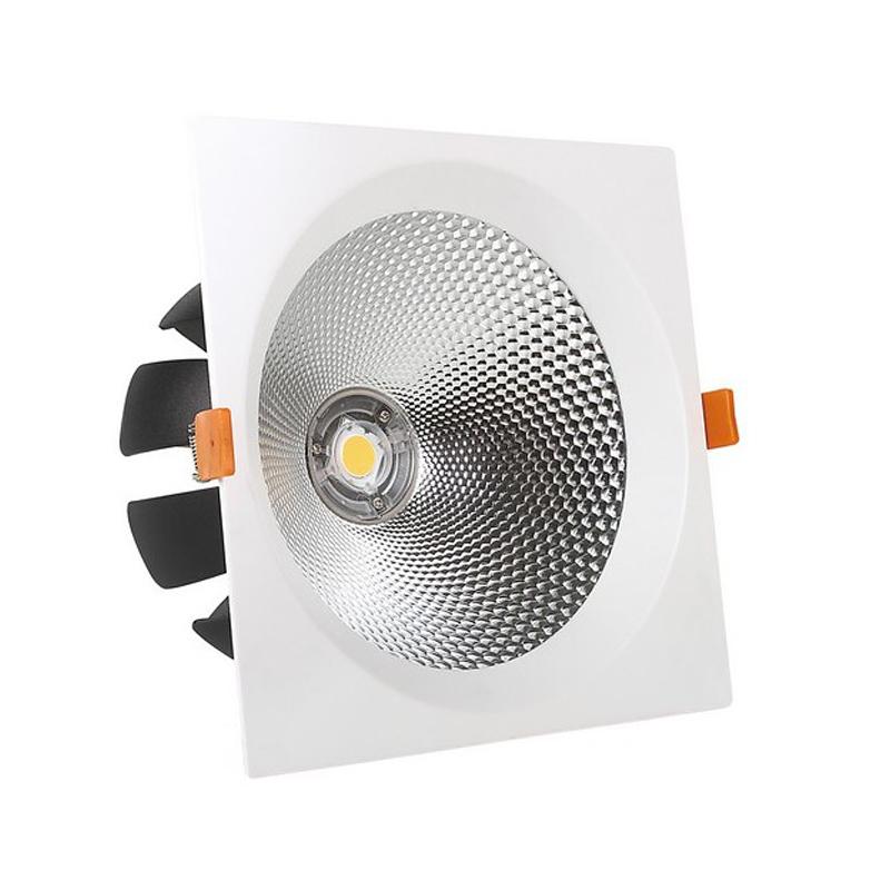 Spot LED COB 40W, 220V, incastrabil, lumina alba naturala