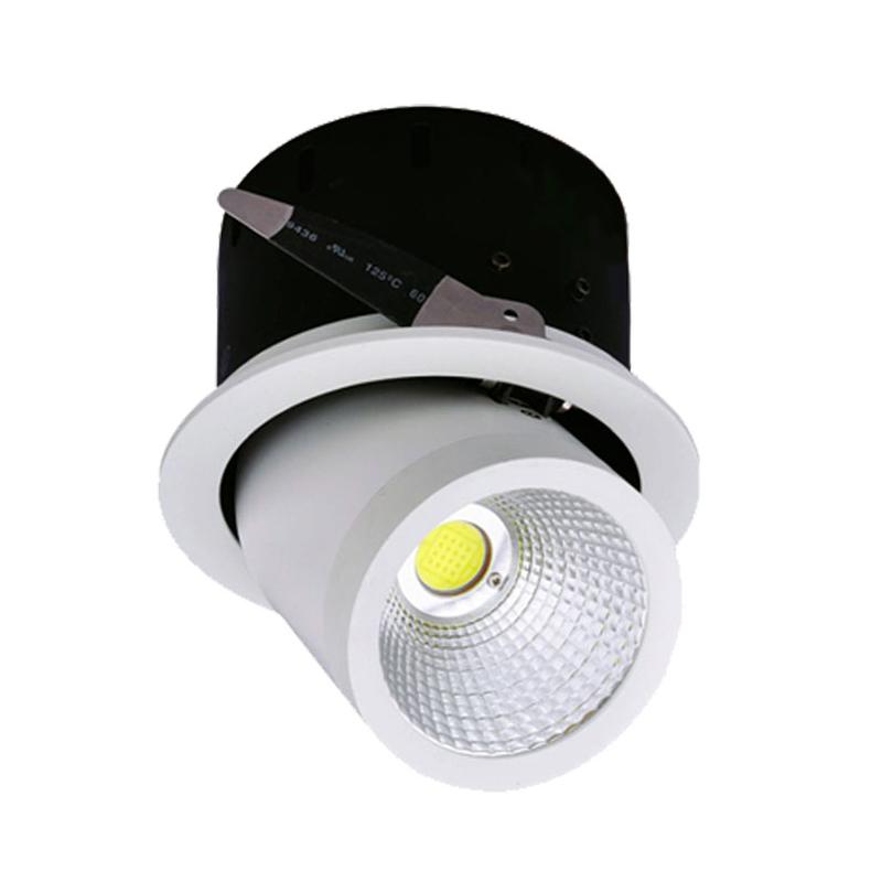 Spot LED COB 35W, Rotund, Orientabil, 4500K