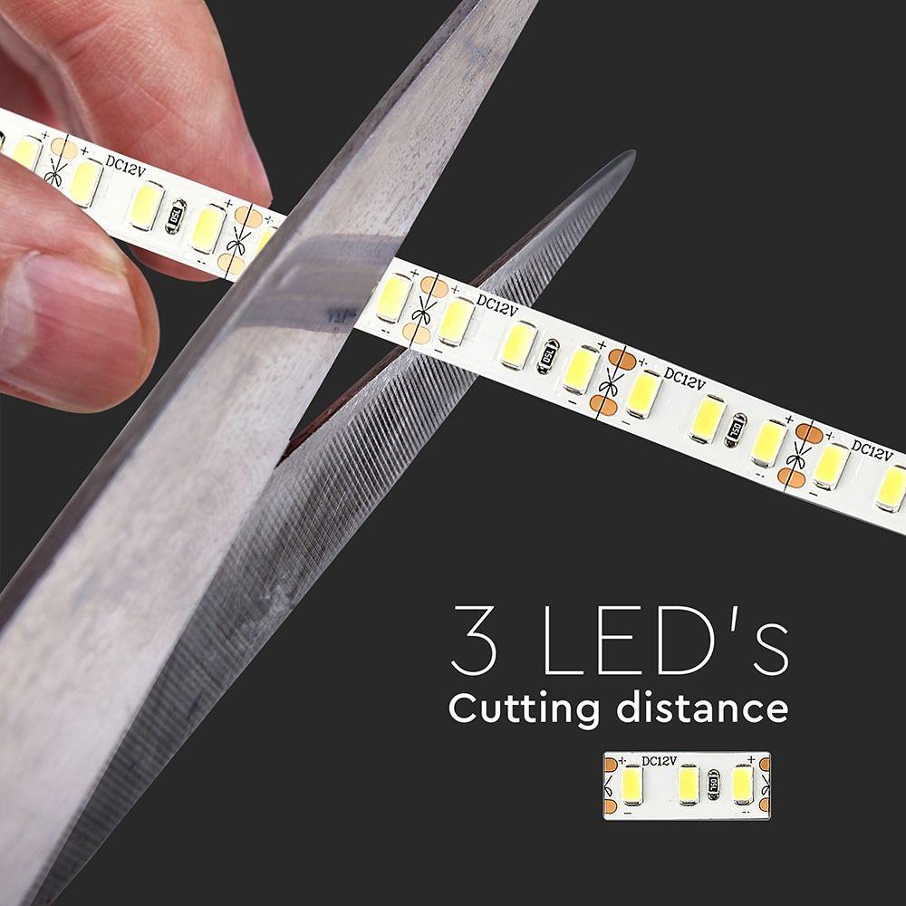 Banda LED SMD5730 - 18W/m 120 LED/m High Lumen 4000K IP20