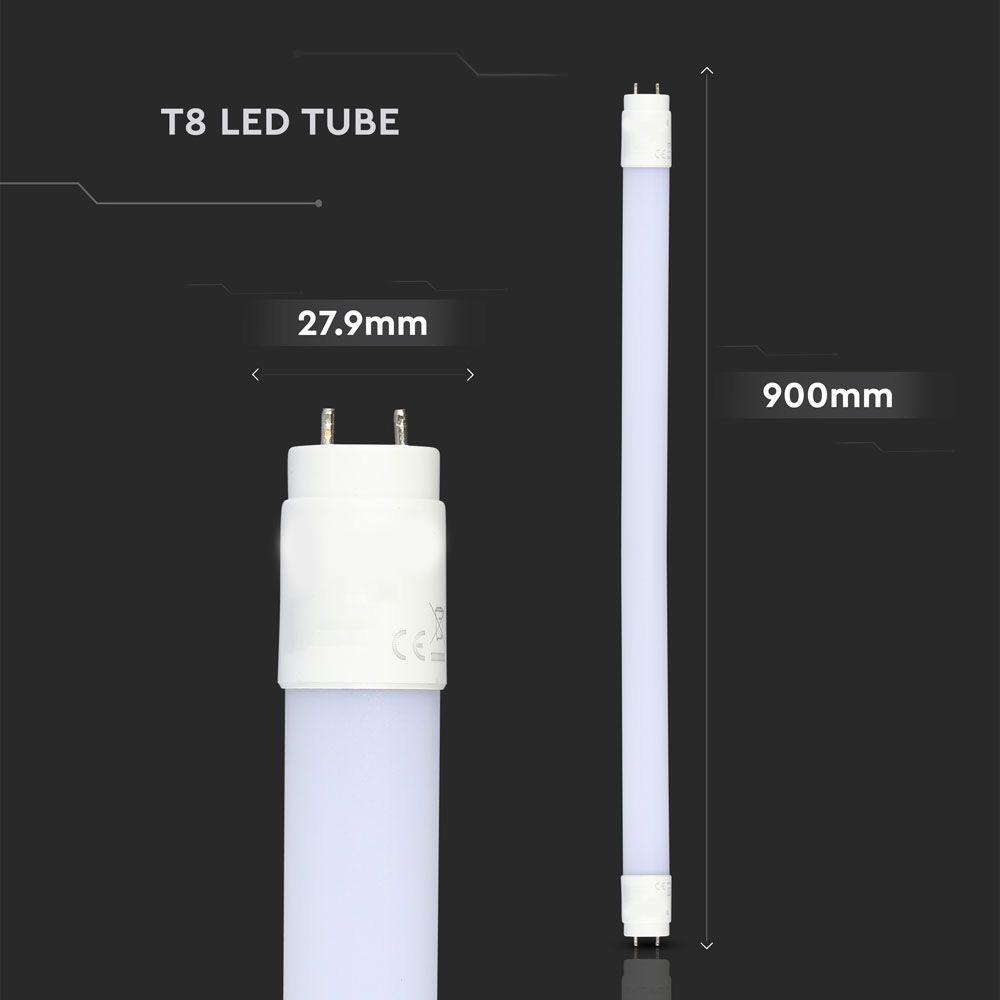 Tub LED T8, 14W, 90 cm, Nano Plastic Rotativ 4000K