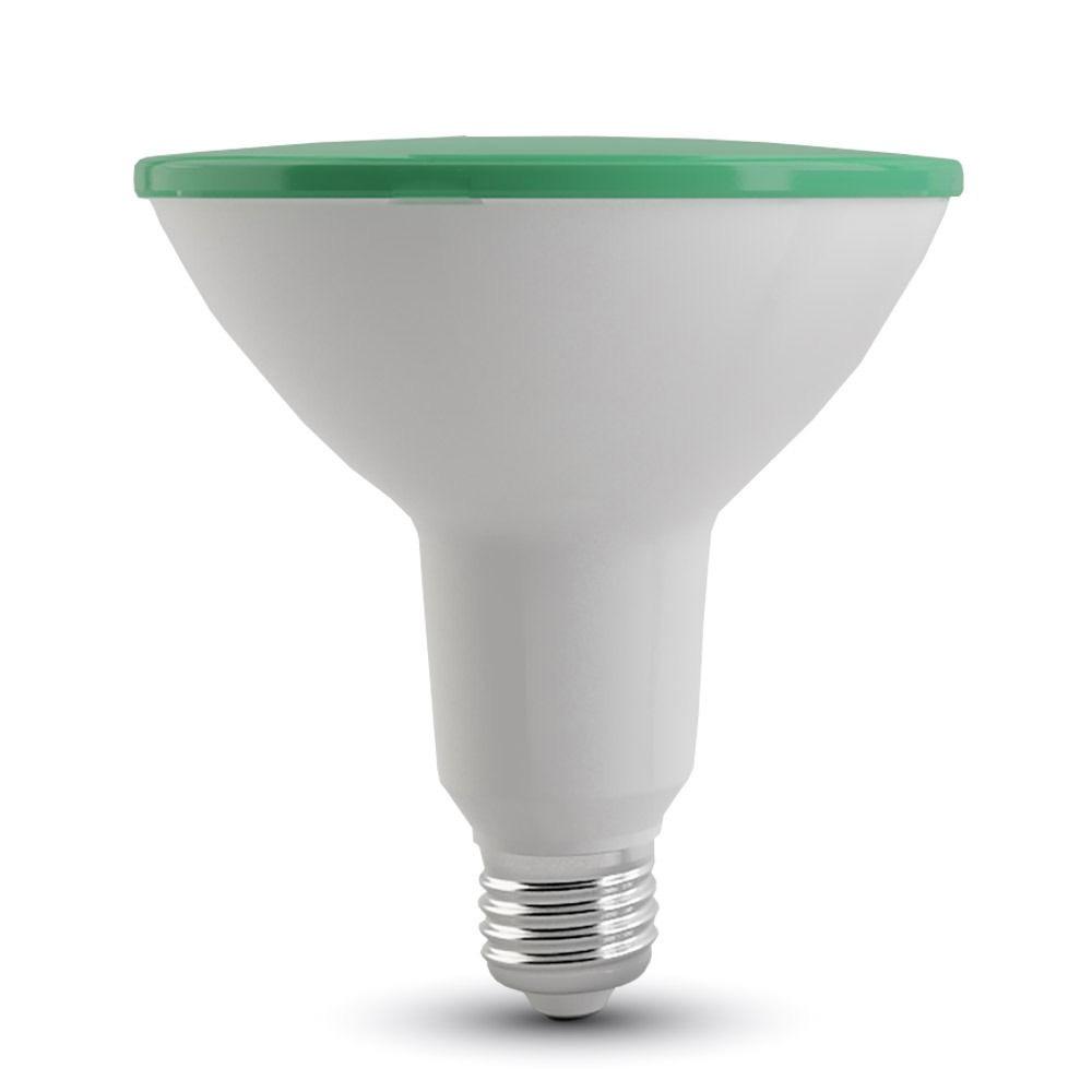 Bec LED - 15W, PAR38, E27, IP65, Verde