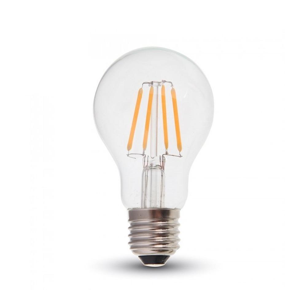 Bec LED - 4W, Filament E27, A60, 2700K