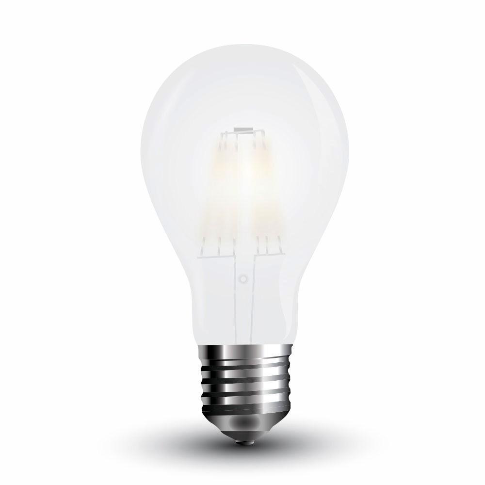 Bec LED - 4W, Filament E27, A60 Dispersor Opac 2700K