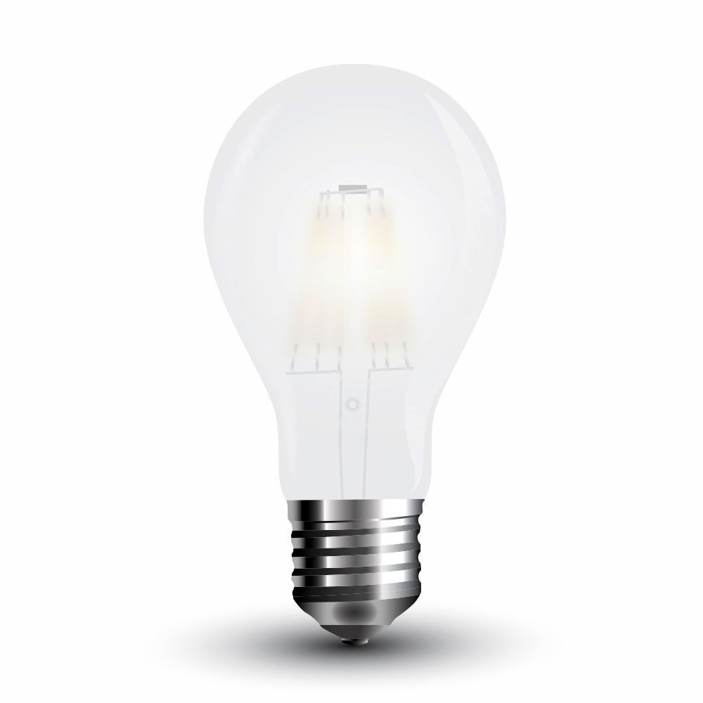 Bec LED - 4W, Filament E27, A60 Dispersor Opac 4000K
