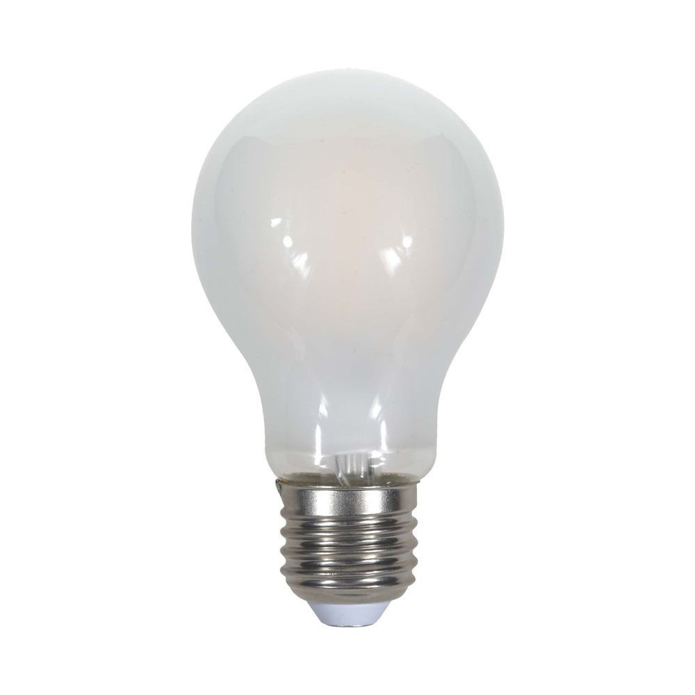 Bec LED - 5W, Filament, E27, A60, Dispersor Semi Transparent 4000K
