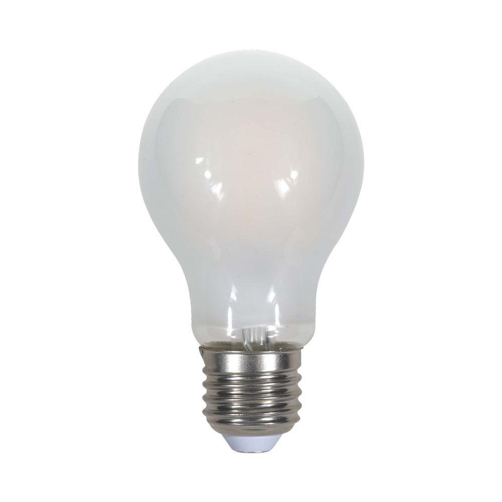 Bec LED - 5W, Filament, E27, A60, Dispersor Semi Transparent 6500K