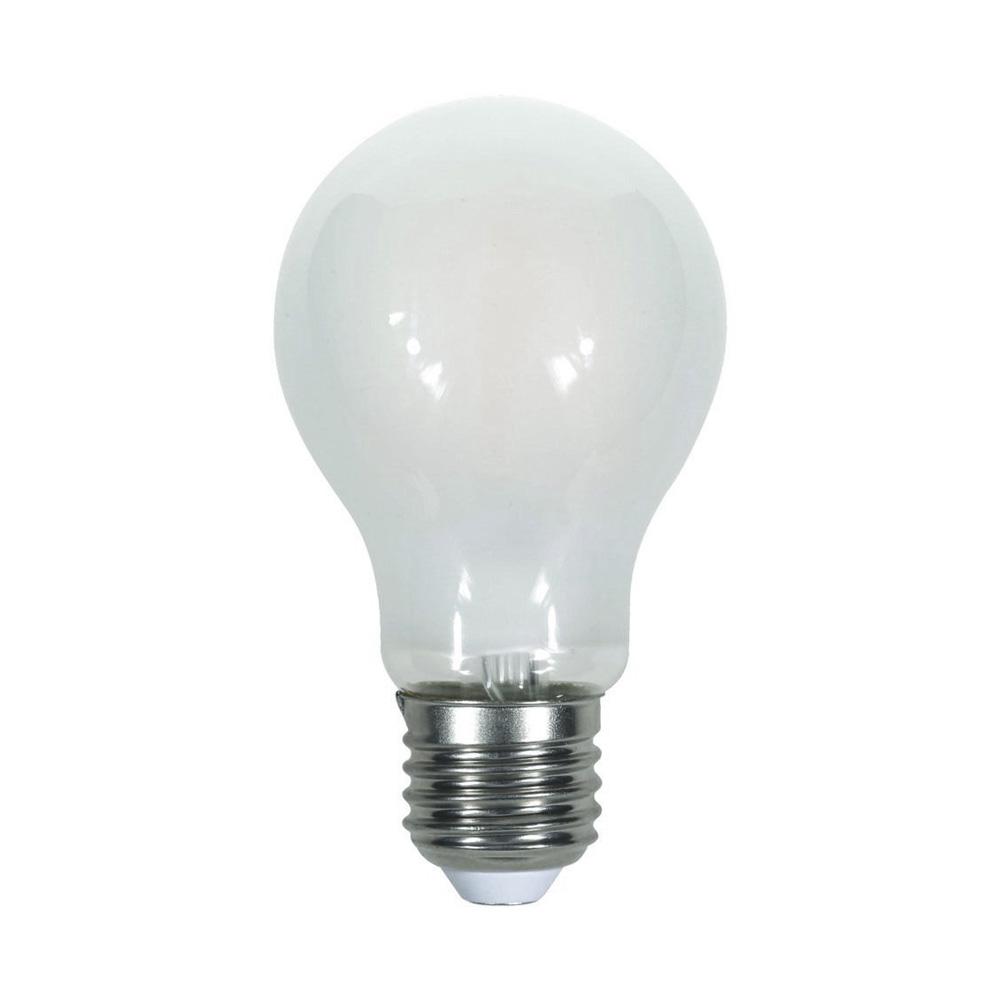 Bec LED - 7W, Filament, E27, A60, Dispersor Semi Transparent, 6400K
