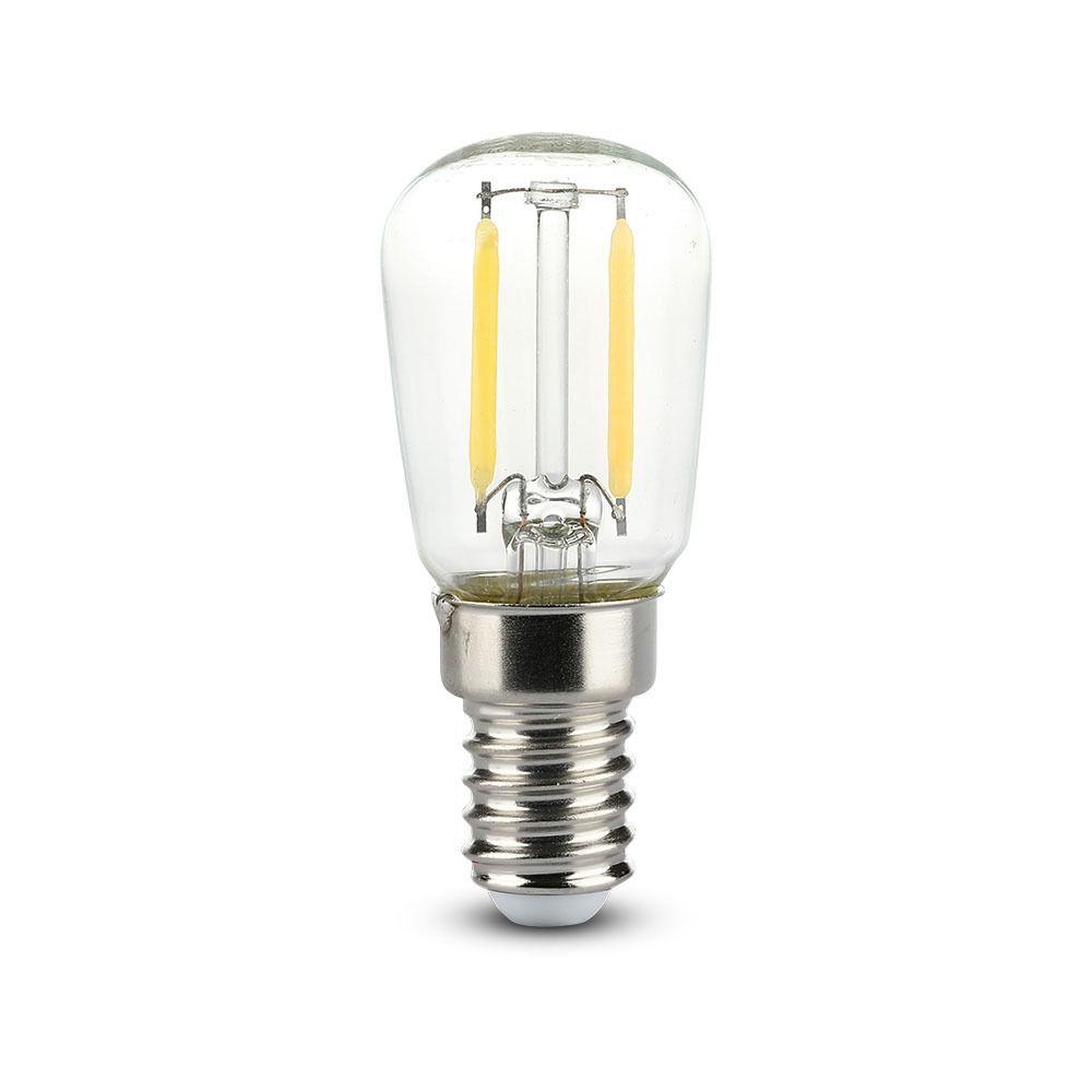 Bec LED - 2W, Filament, E14, ST26, 6400K