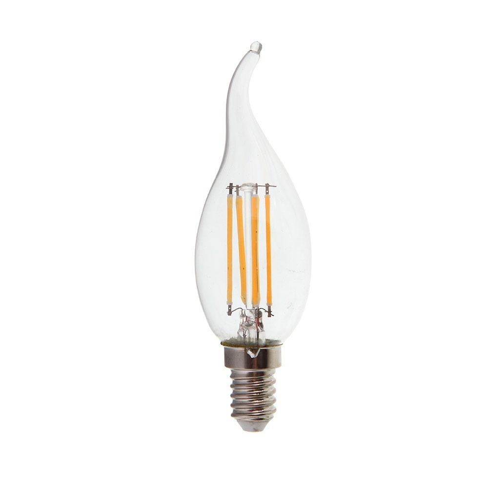 Bec LED - 4W, Filament, E14, Candle Tail 2700K, Dimabil