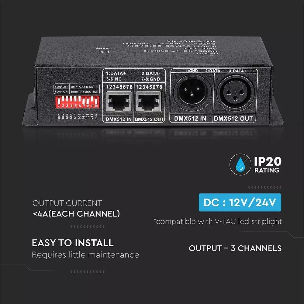 Controller 360W, DMX512