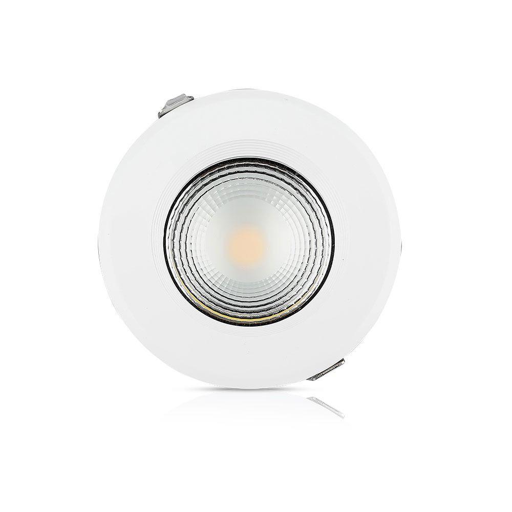 Spot LED 20W, COB Downlight Rotund, A++ 120Lm/W 4000K