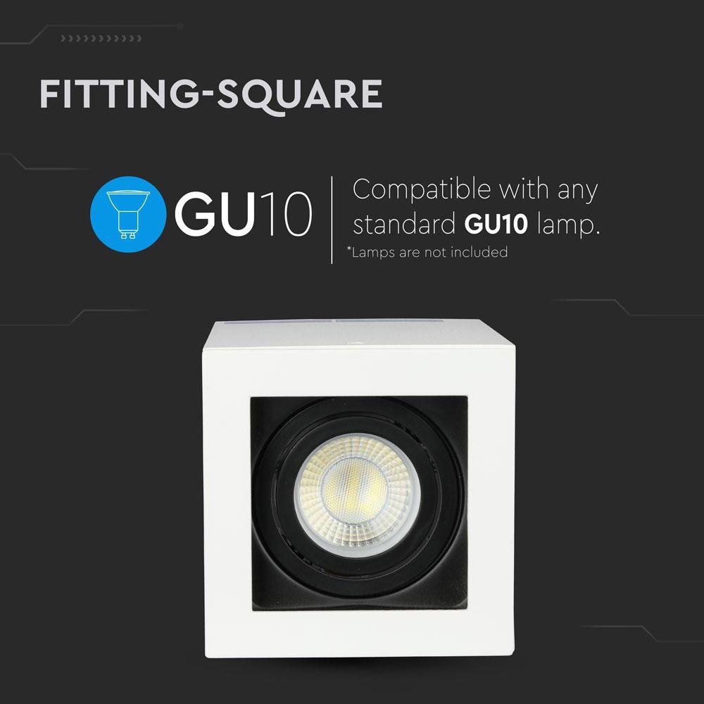 Rama Spot GU10 Aplicabila Satin Nickel