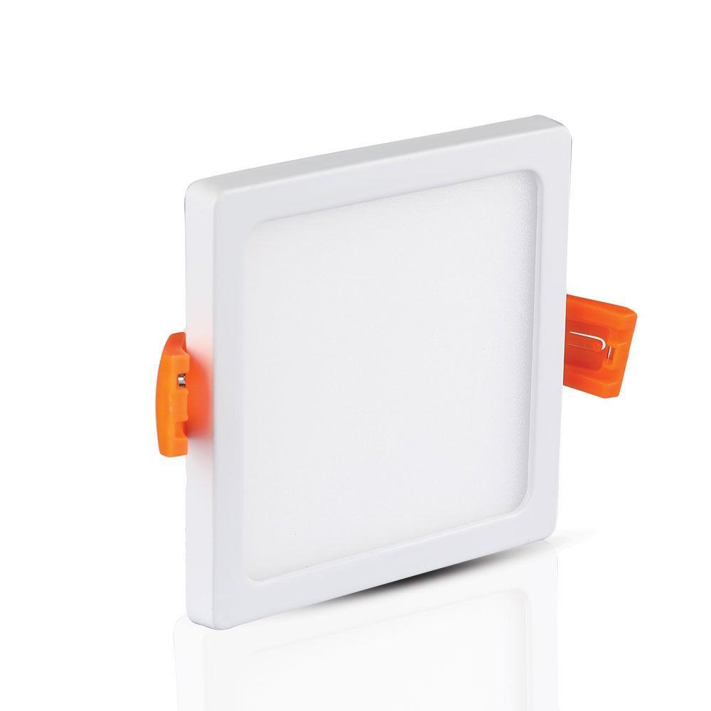 Panou LED Slim 15W, Patrat, 4200K