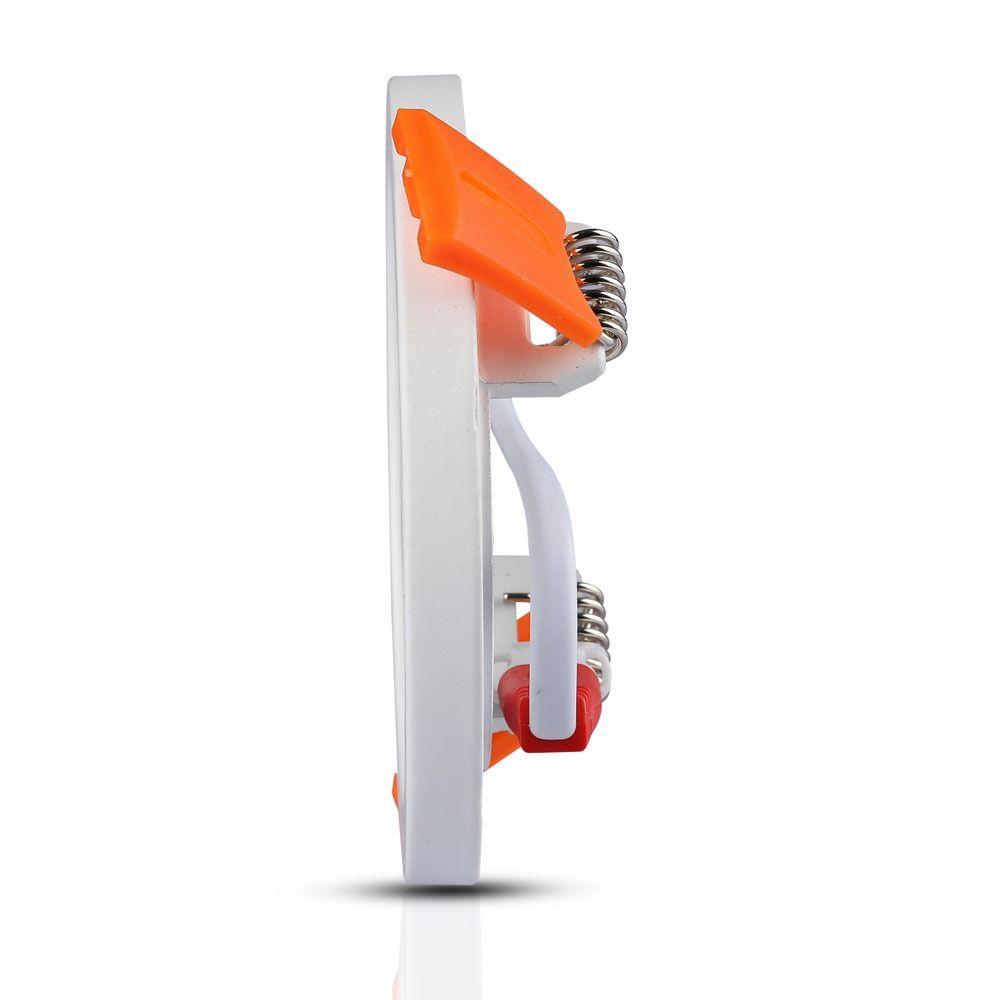 Panou LED Slim 22W, Rotund, 3000K