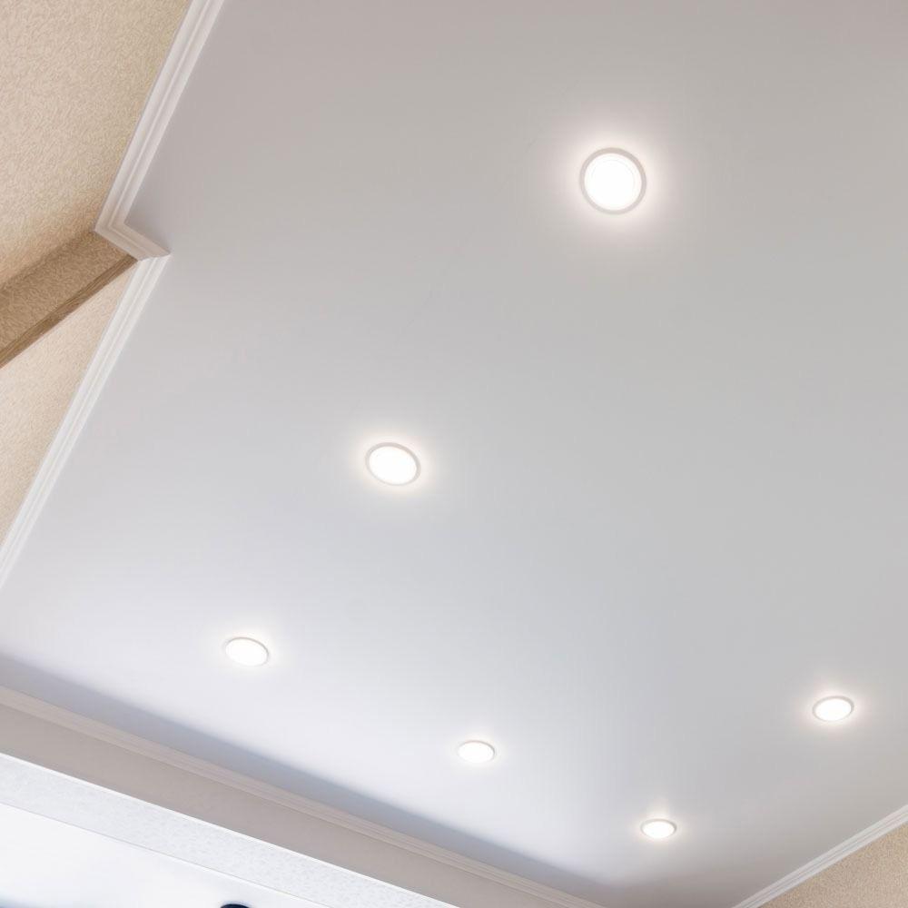 Panou LED Slim 29W, Rotund, 6000K