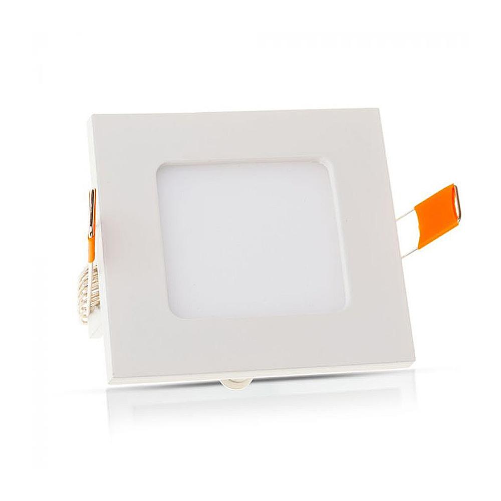 Spot LED 3W, Panou Premium - Patrat 3000K