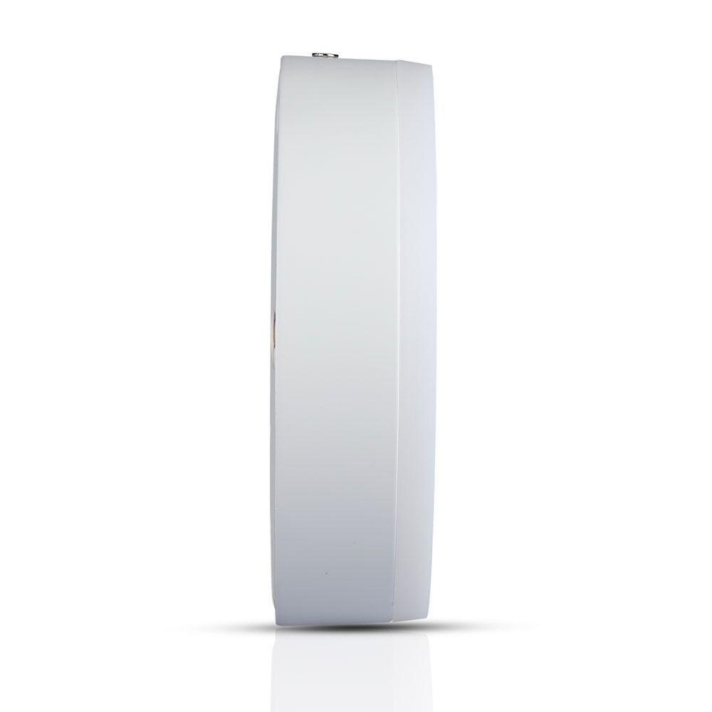 Panou LED 8W, Aplicabil, Rotund, 3000K