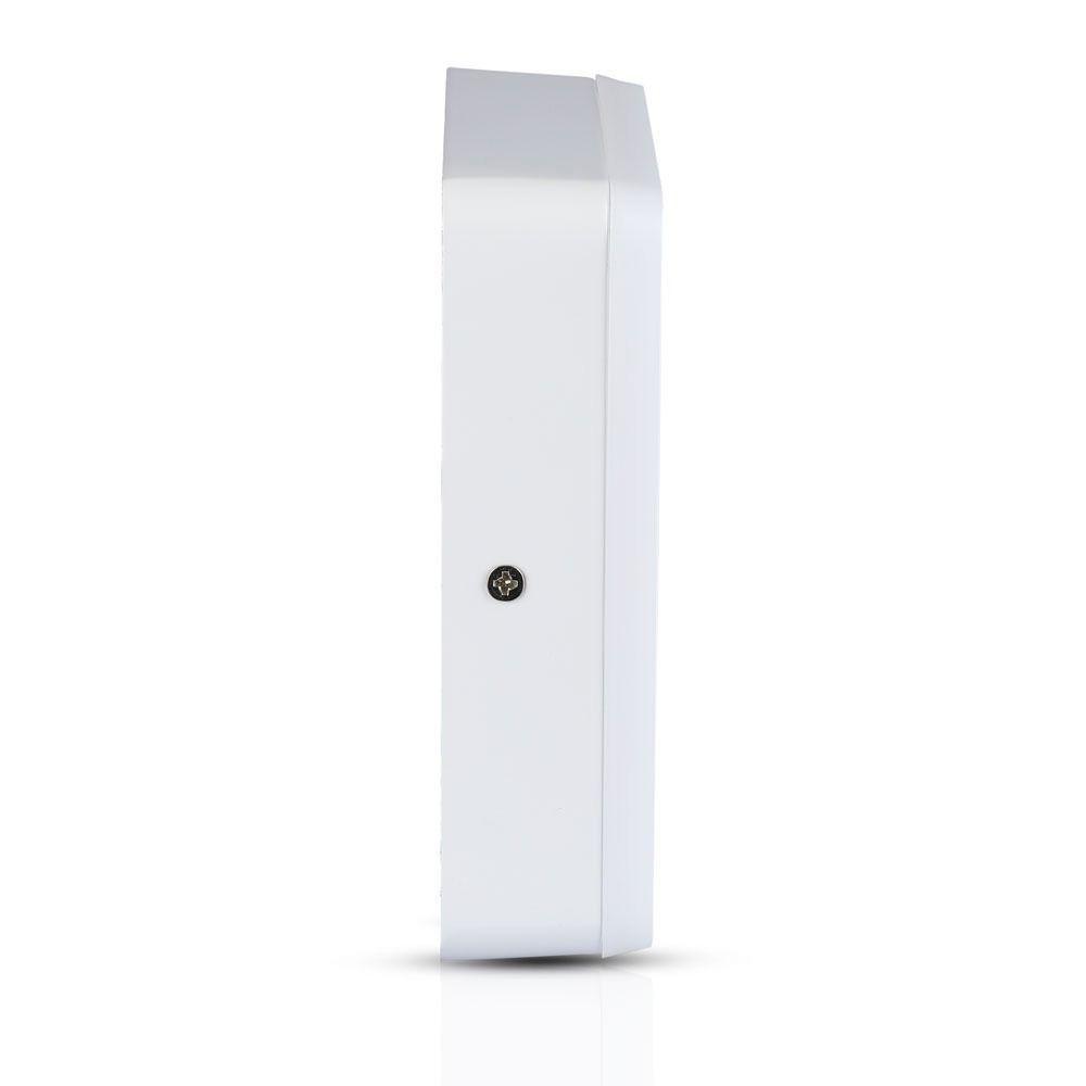 Panou LED 8W, Aplicabil, Patrat, 3000K