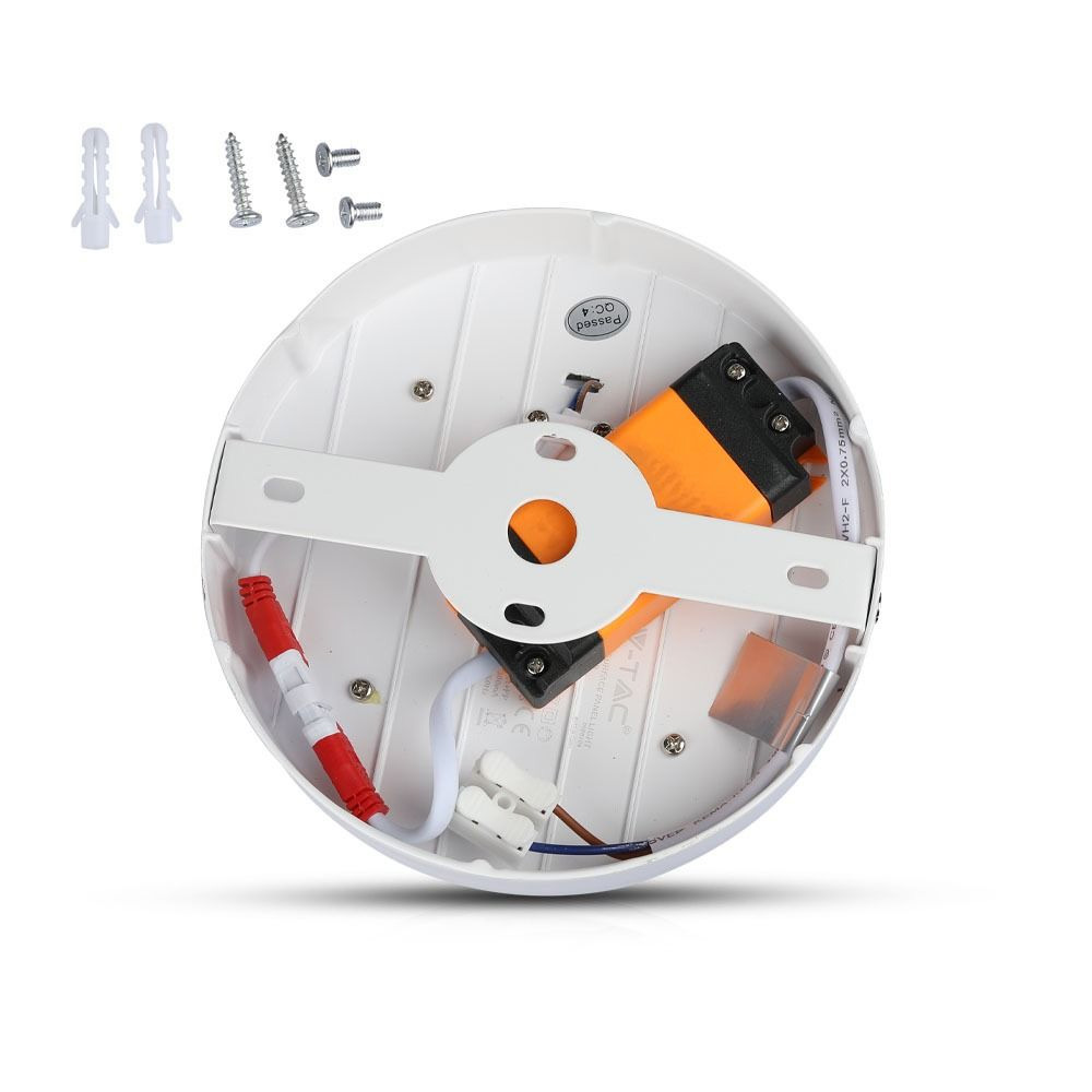 Panou LED 15W, Aplicabil, Rotund, 6400K