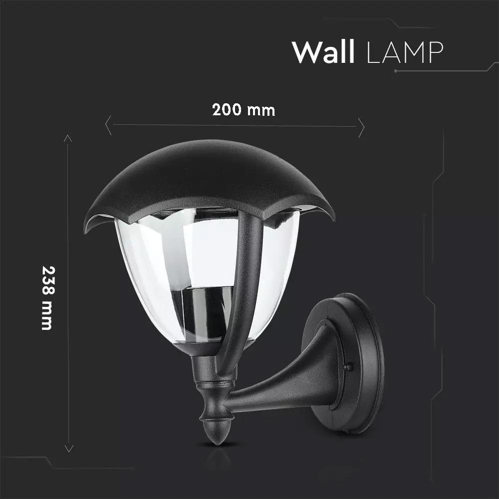 Lampa de perete mata E27, IP44