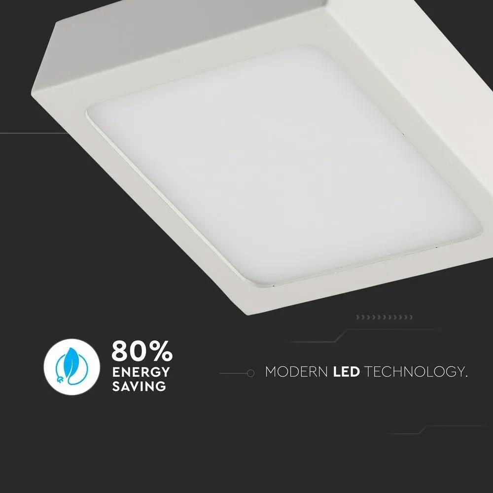 Panou LED 12W, Aplicabil Premium, Patrat, 6000K