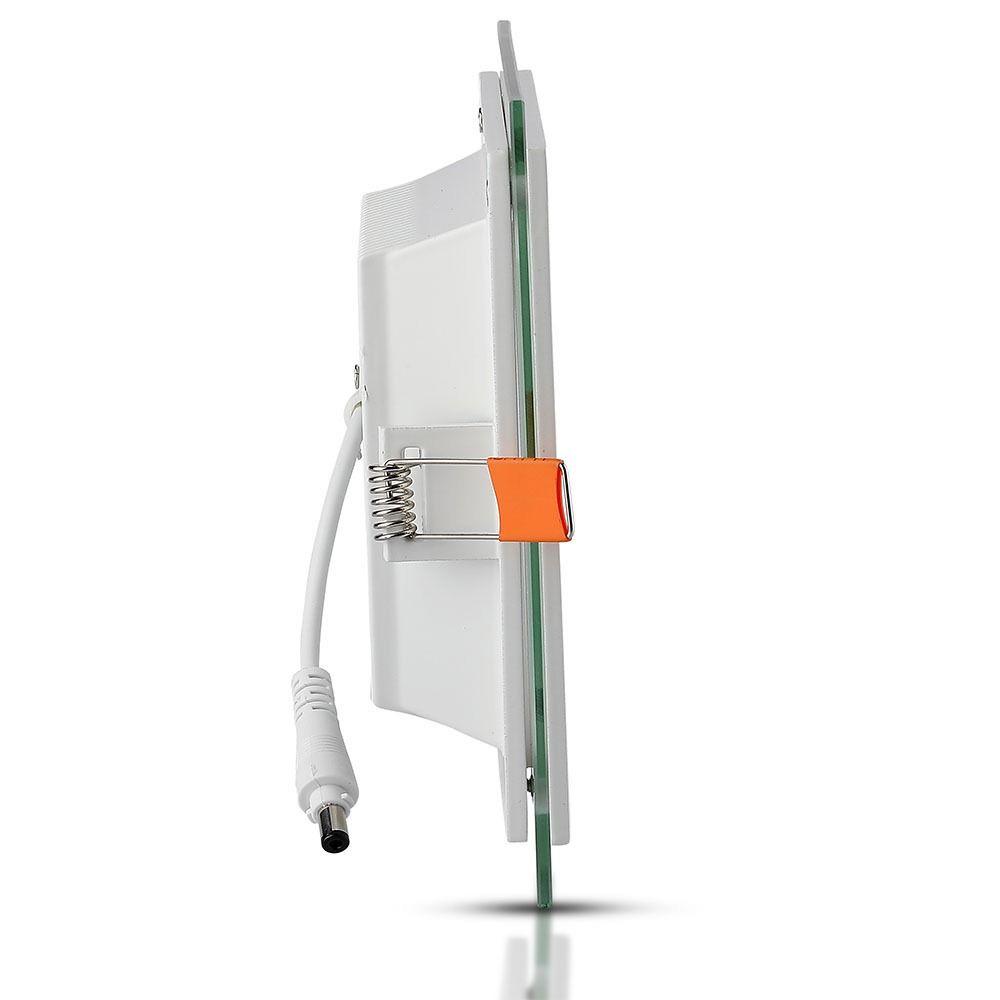 Panou LED Glass 18W - Patrat 4000K