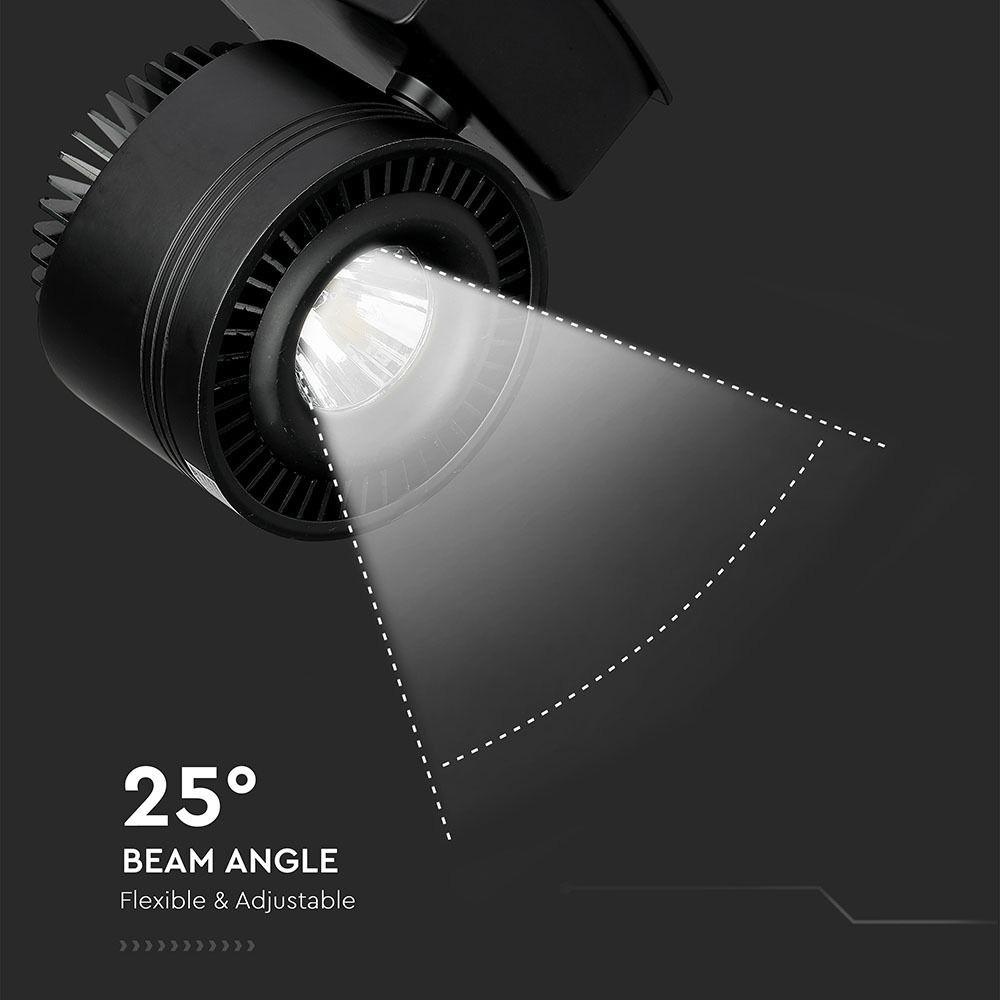 Proiector LED Sina 45W, Corp Negru 5000K