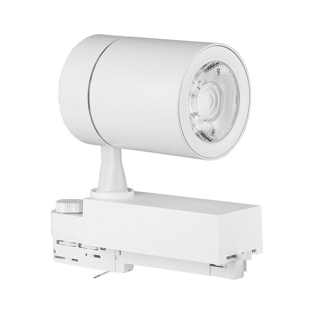 Proiector LED Sina 35W, Corp Alb 3000K